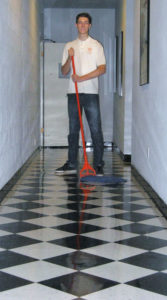 Service -- cleaning of offices