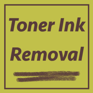 toner ink removal -- Ability Maintenance